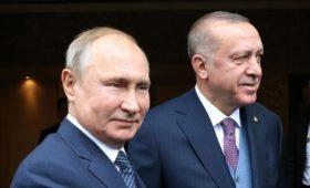 Эрдоган заявил Путину о необходимости сдержать Асада в Идлибе