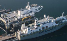 Плавучий космодром «Морской старт» начали перевозить из США в Россию