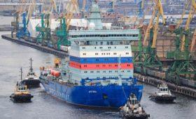 СМИ узнали о возможной сдаче ледокола «Арктика» с неисправным двигателем