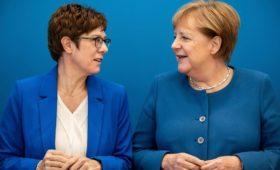 Меркель отказалась вмешиваться в выбор своего нового преемника