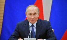 Путин заявил о необходимости «эффективных мер» из-за конфликта в Идлибе