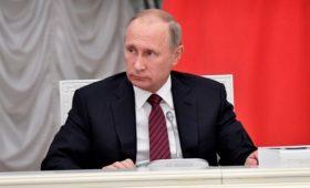 Путин поручил создать рабочую группу Госсовета по борьбе с коронавирусом