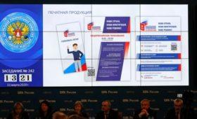 ЦИК утвердила форму бюллетеня на голосовании по Конституции