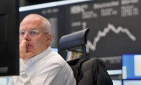 Европейские биржи упали после обвала цен на нефть