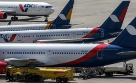 AZUR Air приостановит все рейсы с туристами за границу