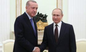 Путин сообщил о приемлемом решении по Сирии после переговоров с Турцией