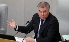 Володин предложил поддержать инвесторов в   развлечения из-за вируса